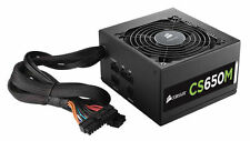 CORSAIR CSM SERIES CS650M 650W 80 PLUS GOLD CERTIFIED MODULAR POWER SUPPLY