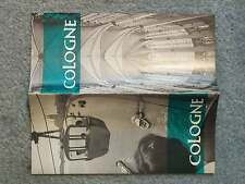 1960 COLOGNE HISTORY AND MAP TOUR TRAVEL GUIDE