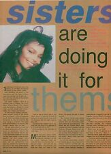 JANET JACKSON  Sister's ..article and magazine PHOTO / Pin Up /Poster 11x8""