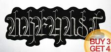 URFAUST GY BACK PATCH,BUY3 GET4,LIFELOVER,BETHLEHEM,BLACK METAL,ISENGARD,1BURZUM