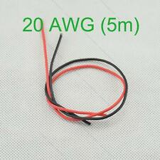 20 AWG (5m) Gauge Silicone Wire Wiring #R Flexible Stranded Copper Cables for RC