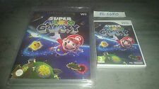 SUPER MARIO GALAXY WII NINTENDO NEUF VERSION FRANCAISE + GUIDE OFFICIEL NEUF