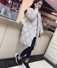 Fashion Women's Winter Long Cotton Coat Slim Down Jacket Parka Outerwear S~2XL❤