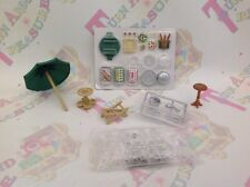 Sylvanian Families Garden Party Ice Bucket Cakes Glasses Wine Replacement Spares