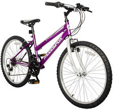 Muddy Fox Mountain Bike 26 pollici Donna Bicicletta MTB City Bike Ruota Shimano NUOVO VIOLA