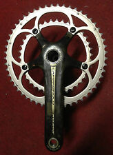 Guarnitura Campagnolo Record carbon bike crankset 170 39-53 10 s made in Italy