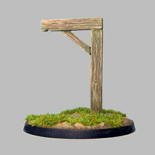 TQD MC10 20mm Diecast Diorama Items: Gibbets (Gallows) 2 Models