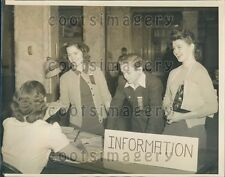 1939 American Student Union Convention University of Wisconsin Press Photo
