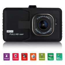 "3"" Full HD 1080P Car DVR Novatek Dash Camera G-sensor Vehicle Video Cam Recorder"