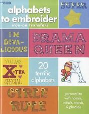 Alphabets to Embroider: Iron-on Transfers (Leisure Arts #4412), Kooler Design St