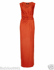 M&S Autograph Drape Maxi Dress, Size 12 Bnwt-RRP £65