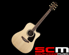 RRP$799 TAKAMINE TGD51CENAT ACOUSTIC/ELECTRIC GUITAR WITH PICKUP NATURAL FINISH