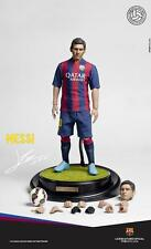 ZC WORLD FOOTBALL FC BARCELONA LIONEL MESSI 1/6 SCALE ACTION FIGURE *NEW*