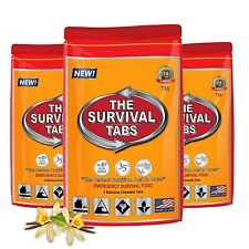 1 Meals 1 Day 240 Calorie Emergency Survival Food Tab Ration Car Kit Bug Out