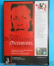 documentari documentario paolo borsellino l'intervista nascosta palermo capaci v