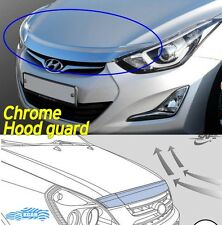 Bonnet Hood Guard Chrome Front Garnish Deflector for Hyundai ELANTRA 2011 ~ 2016