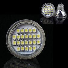 MR11 12V 24 LED SMD Outdoor Light Spotlight Bulb Cool White Energy Saving