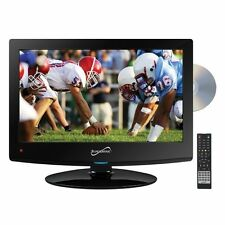 Supersonic 15 inch 12V AC/DC HD LED LCD TV Television W/ DVD CD Player HDMI USB