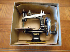 1926 Antiques A SINGER FOR THE GIRLS,Sewing Machine In Original Box,CAST IRON!