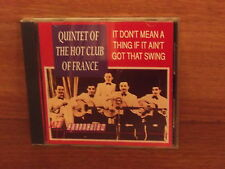 Quintet Of The Hot Club  : It Don't Mean A Thing If It Ain't Got That Swing