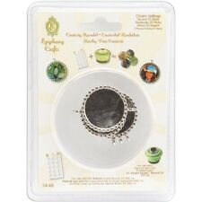 Epiphany Crafts Metal Charm Settings - 127417