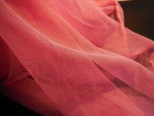 Vera WANG simili SHARP ROSA MORBIDO TULLE SPOSA FAI DA TE 150cm wide.per 1 / 2M