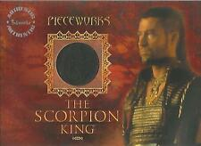"The Scorpion King - PW-3 ""Steven Brand"" Pieceworks Costume + Redemption Card"