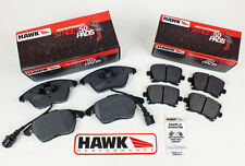 Audi A3 03 on Front & Rear Fast Road Hawk HPS 5.0 Brake Pads