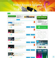 Music and Video Search Engine Website