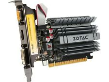 ZOTAC GeForce GT 730 DirectX 12 (feature level 11_0) ZT-71115-20L 4GB 64-Bit DDR