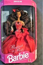 NRFB Mattel Radiant in Red Barbie Toys R Us exclusive Special Edition hispanic