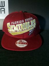 Florida State Semenoles New Era 9Fifty SnapBack NCAA Hat/Cap