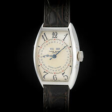 Franck Muller 18K WG  5850 MC Men's Watch Cintree Curvex Master Calendar