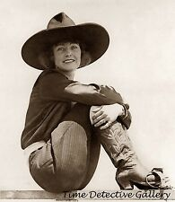 Actress and Rodeo Cowgirl Mabel Strickland - Historic Photo Print