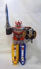 MMPR Power Rangers Intermediate Medium Sized Megazord Dinozord Complete 8""