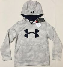 NWT youth Boys' YXL Xlarge UNDER ARMOUR hooded sweatshirt STORM1 hoodie COLDGEAR