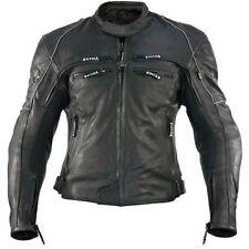 Vulcan Men's VNE-98431 Motorcycle Street Armored Genuine Leather Jacket Moto