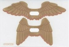 LEGO - Trans-Clear Plastic Wings with Gold Feathers Hawkman Pattern, Sheet of 2