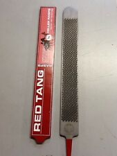 Heller Red Tang Rasp Farrier Blacksmith Barefoot Trimmer Vet Equestrian