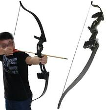 Youth Beginner Archery Take Down Recurve Bow Set Shooting Hunting Practice Games