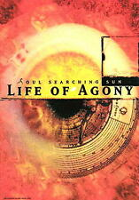 """LIFE OF AGONY FLAGGE / FAHNE  """"SOUL SEARCHING POSTER FL"""