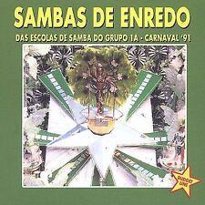 Sambas De Enredo Das Escolas De Carnaval 91 by Samba De Enredo Das