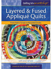 NEW! Layered & Fused Applique Quilts with Jane LaFazio [DVD]