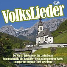 CD Volkslieder  von  Diverse Interpreten  2CDs