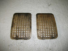 PAIR OF TRIUMPH MK1/2 2000 2500 BW35 AUTO TRANS BELLHOUSING VENT COVERS,EXC COND