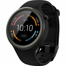 NEW Sealed, Motorola Moto 360 Sport Smartwatch- 45mm (Black)