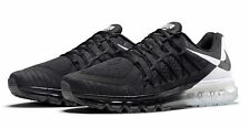 New Sz 7.5 Men's Authentic Nike Air Max 2015 DOS Sequent Torch 789562 001 Black