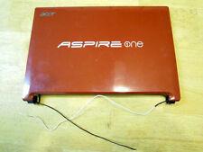 Acer D255E-13111 PAV70 Lid - LCD Back Cover Bezel WiFi Antenna Webcam #489-10