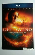KNOWING NICOLAS CAGE NUMBERS COVER ART MINI POSTER BACKER CARD (NOT a movie )