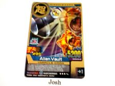Animal Kaiser Evolution Evo Version Ver 8DX Gold Card (M155E: Alien Vault)